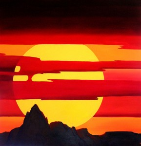 Baboquivari Sunset