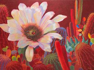 Desert Garden #17, 36x46, oil on canvas