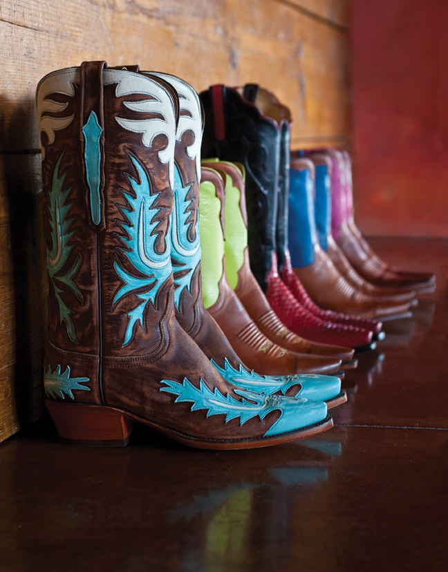 Handcrafted ladies boots from J. Gilbert Footwear
