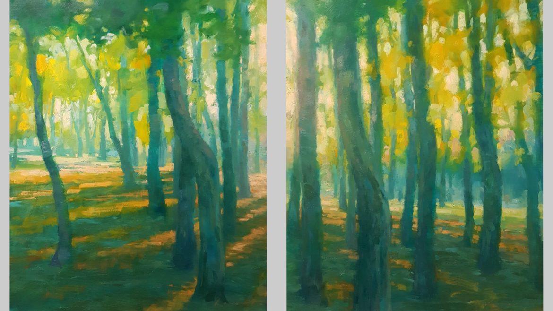 Contemplation, Lisa Larrabee Painting, Rogoway