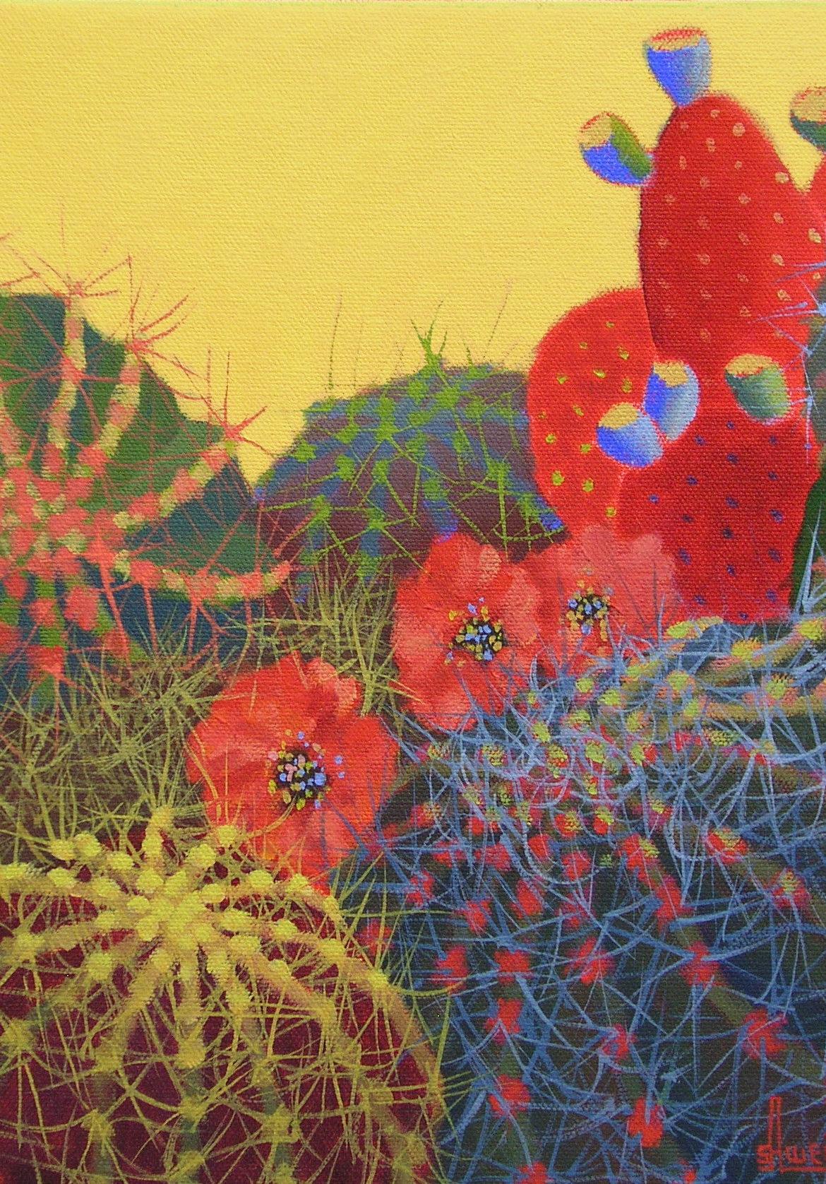 Desert Blooms #34, Sharon Weiser, Rogoway Gallery