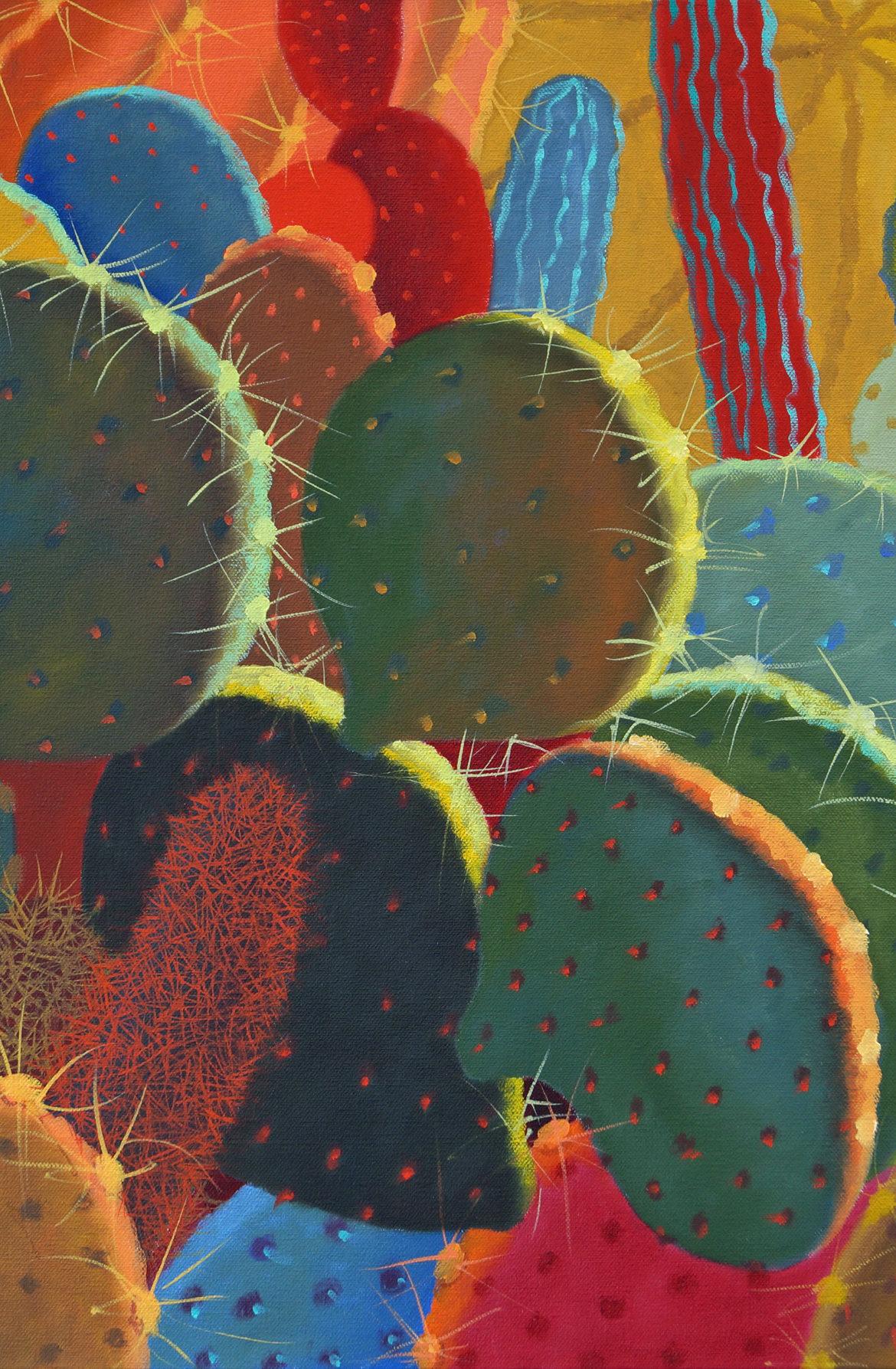 Desert Garden #30, Sharon Weiser, Rogoway Gallery