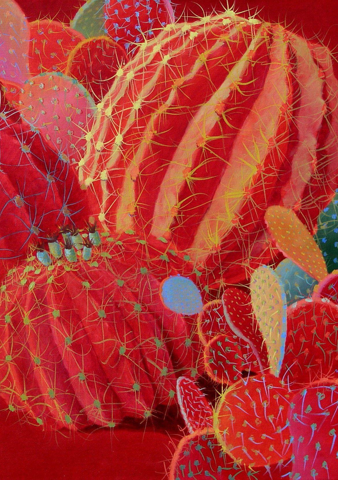 Desert Garden #7, Sharon Weiser, Rogoway Gallery