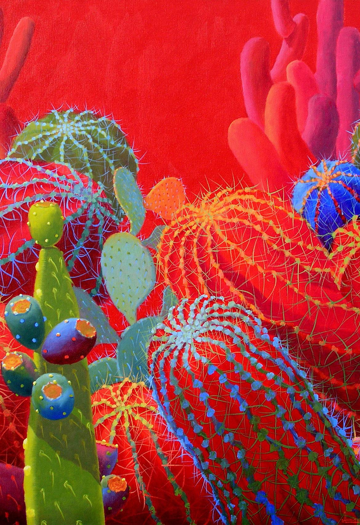 Desert Glitter, Sharon Weiser, Rogoway Gallery