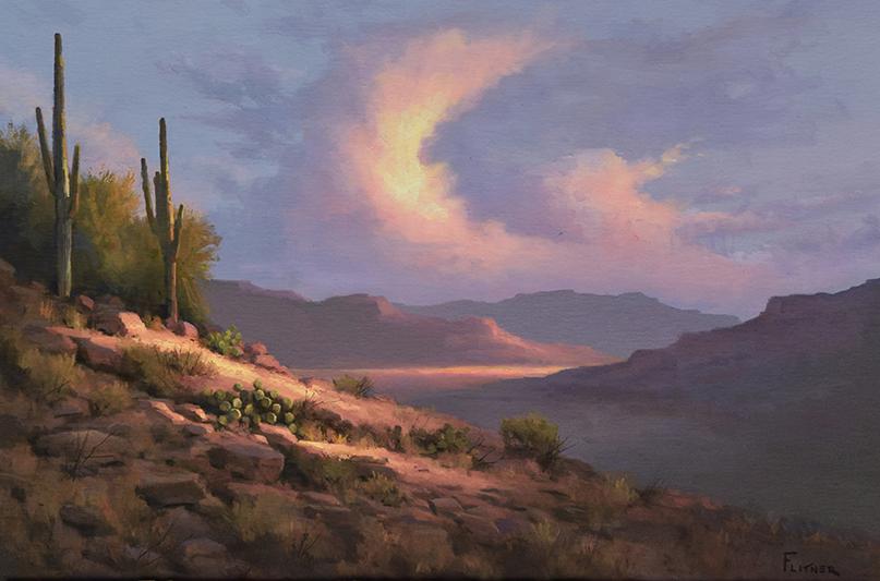 Beyond the Desert Hills, David Flitner, Rogoway Gallery