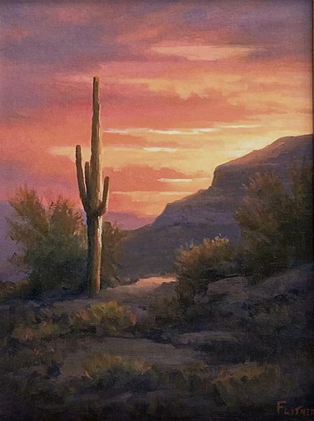 Red Sky Summer, David Flitner, Rogoway Gallery