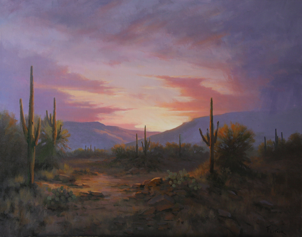 Twilight's Serenity, David Flitner, Rogoway Gallery