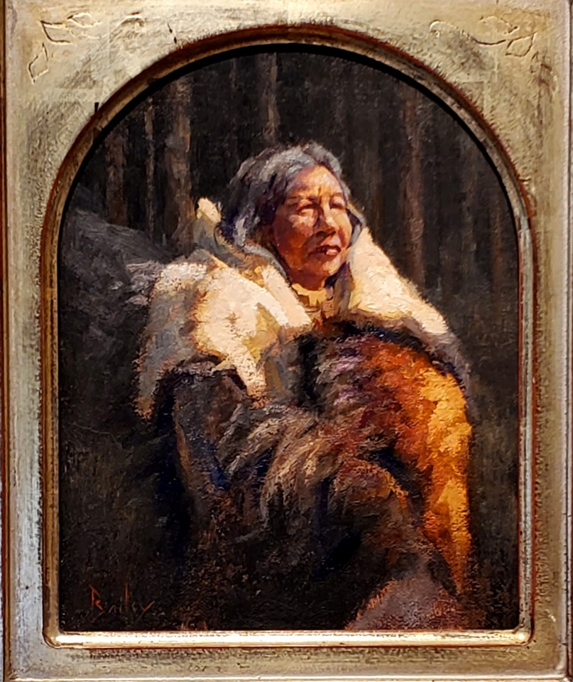 Grandmother, Brandon Bailey, Turquoise Tortoise Gallery