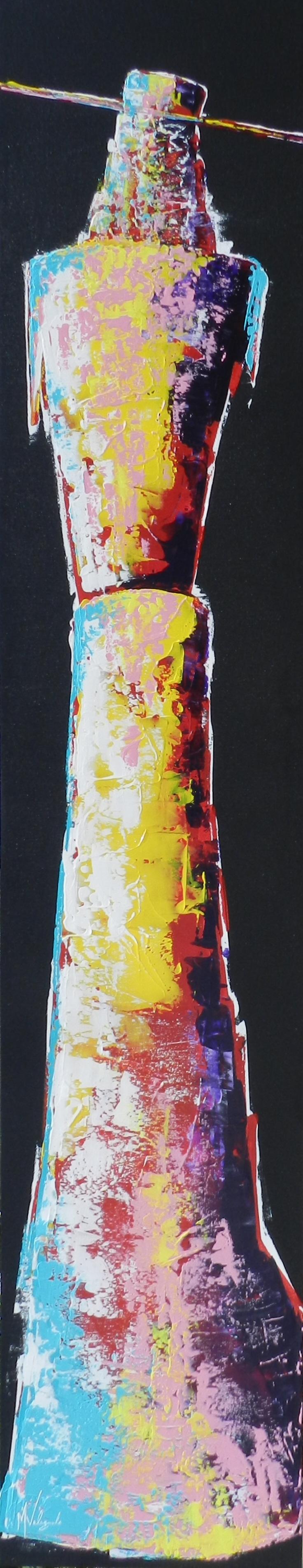 Gypsy, Manny Valenzuela, Painting, Rogoway Gallery