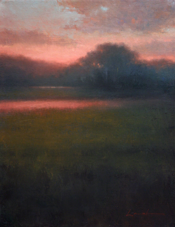 In Stillness, Lisa Larrabee Painting, Rogoway