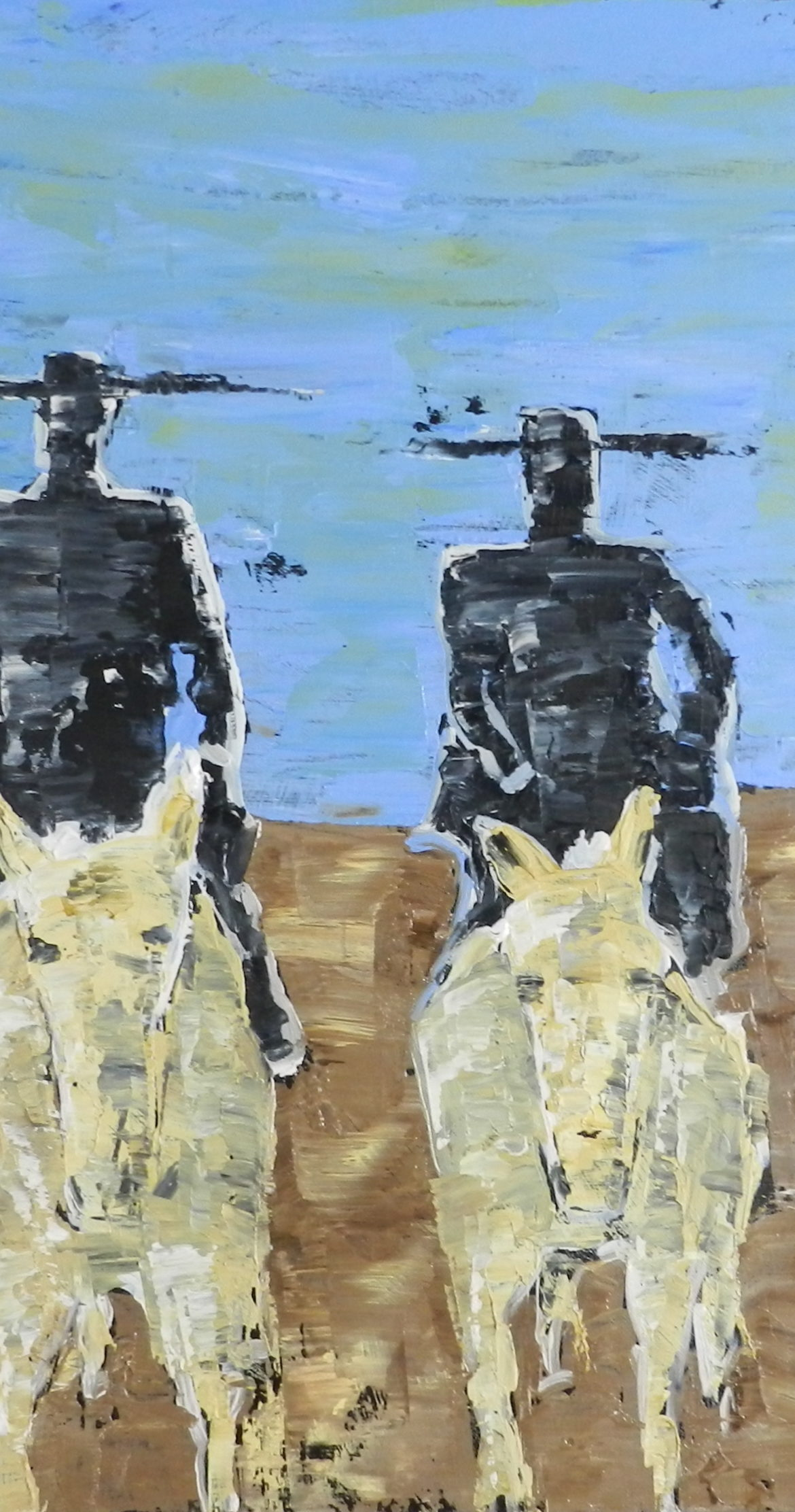 No More Rodeos, Manny Valenzuela, Painting, Rogoway Gallery
