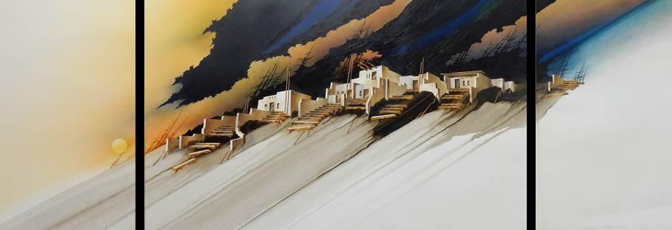 Nogales Refuge, Albert Dreher, Rogoway Turquoise Tortoise Gallery