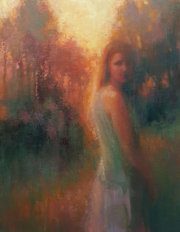 Passing Moment, Lisa Larrabee Painting, Rogoway