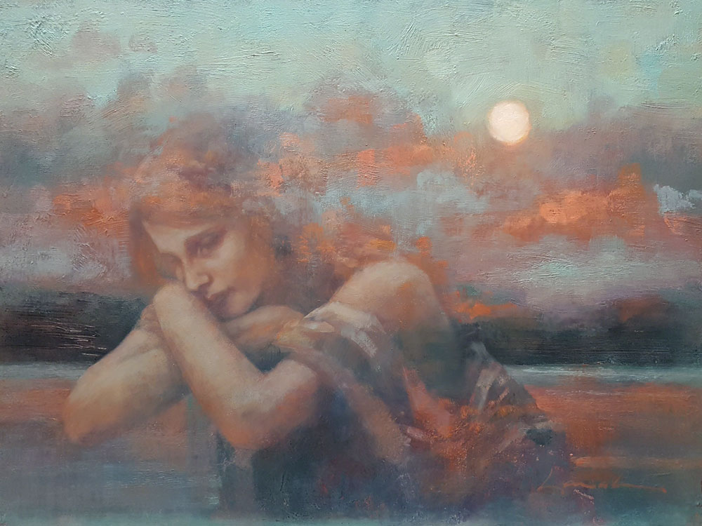 Reflection, Lisa Larrabee, Rogoway Turquoise Tortoise Gallery