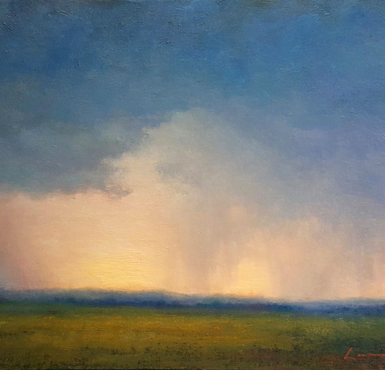 Refreshed, Lisa Larrabee Painting, Rogoway