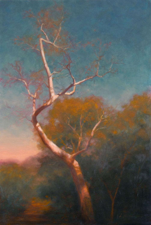Sinuous, Lisa Larrabee Painting, Rogoway