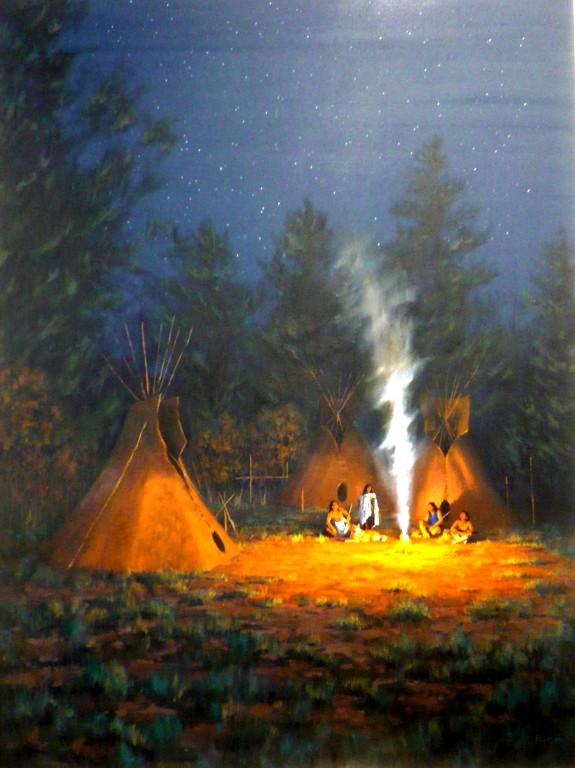 Smoke and Stories, David Flitner, Rogoway Gallery