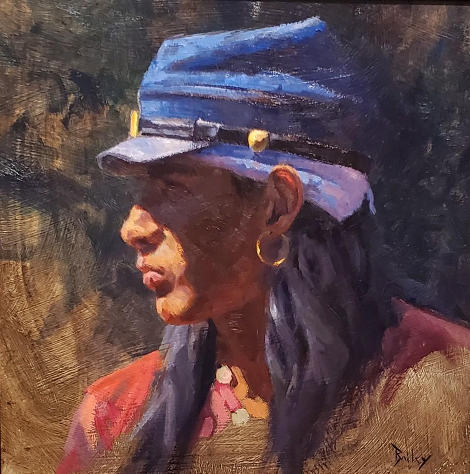 Soldier Hat, Brandon Bailey, Turquoise Tortoise Gallery