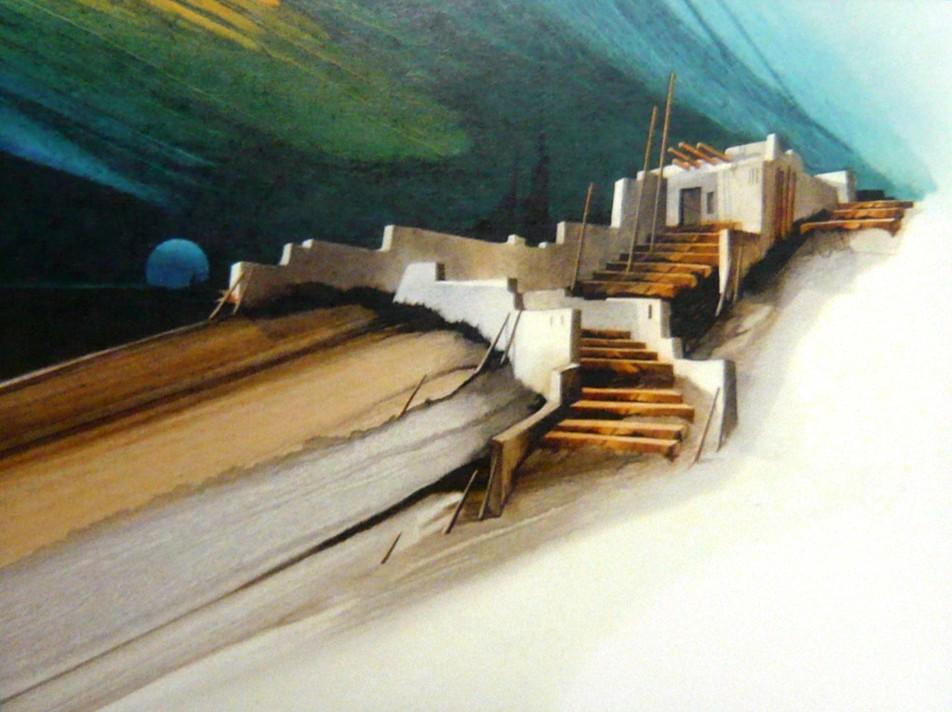Sonoran Dreams Mini Print, Albert Dreher, Rogoway Turquoise Tortoise Gallery