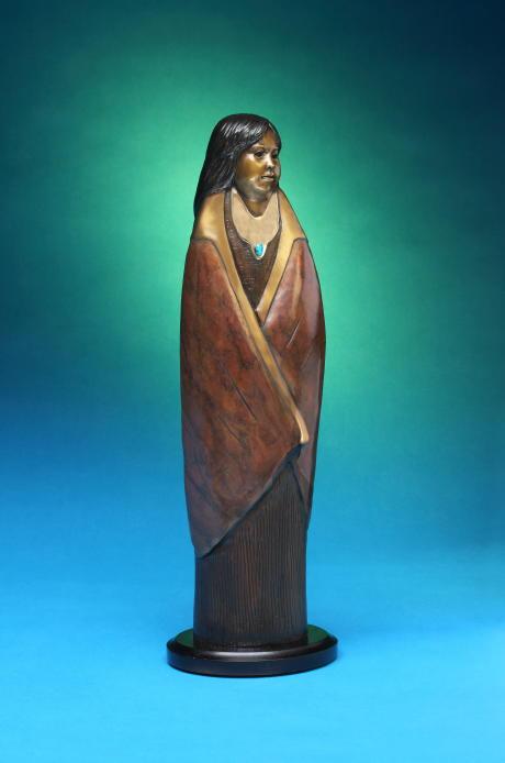 Sweetness, Felicia Sculpture, Rogoway Turquoise Tortoise Gallery