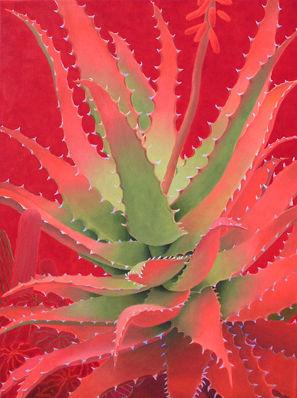 Sharon Weiser Cactus Paintings Rogoway Turquoise Tortoise Gallery Tubac Az