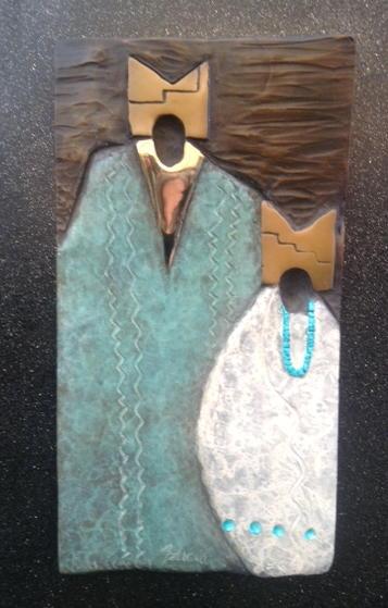 Dancers, Felicia Sculpture, Rogoway Turquoise Tortoise Gallery