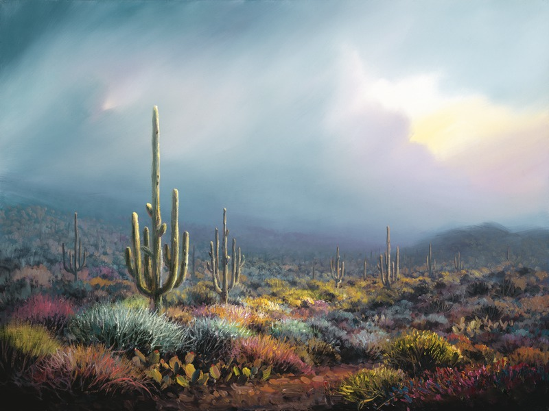 The Coming Storm, Charles Pabst Giclee, Rogoway Gallery