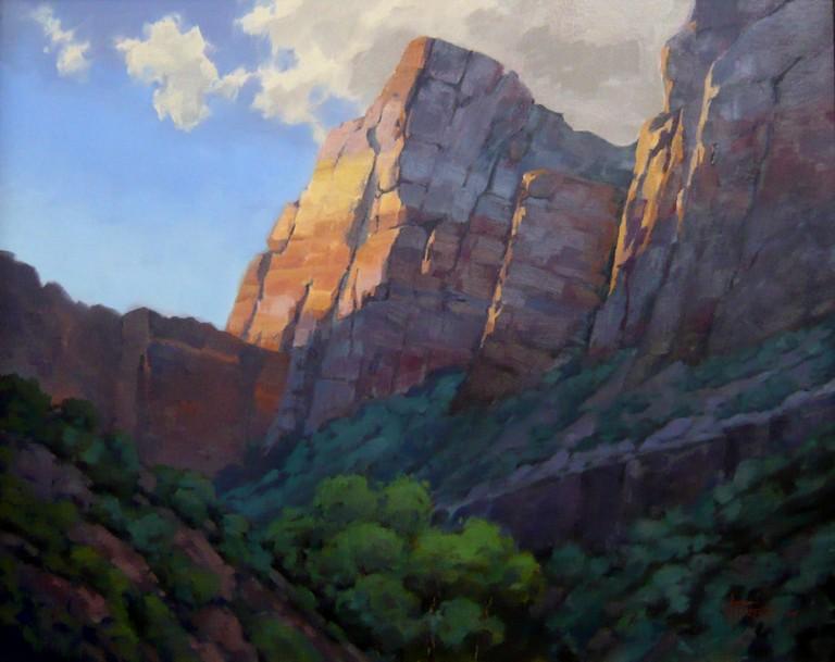 Zion Morning 1, Walter Porter