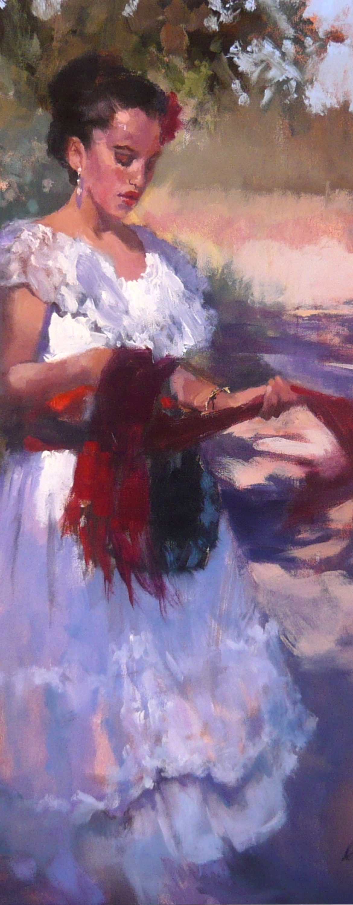 A Quiet Moment, Gretchen Lopez, Rogoway Gallery