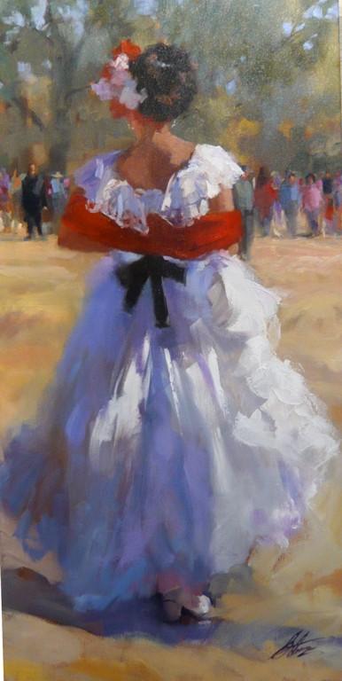 La Bailarina de la Veracruz, Gretchen Lopez, Rogoway Gallery