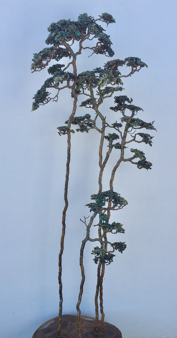 Cambria pines AZ, Thomas A. Tankersley , Sculpture, Rogoway Gallery