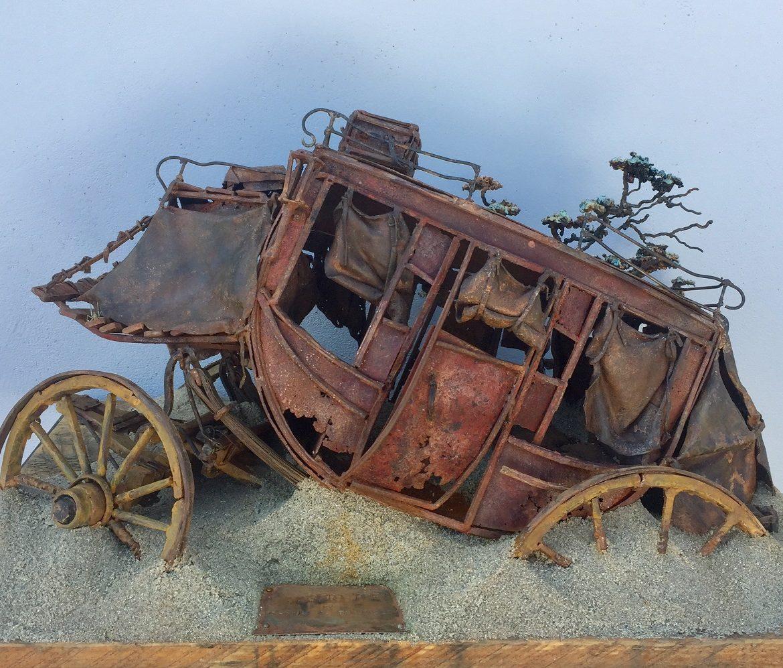 Desert Prey, Thomas A. Tankersley , Sculpture, Rogoway Gallery