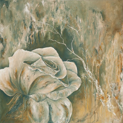 In Full Bloom, Anna Carlson, Painting, Rogoway Gallery
