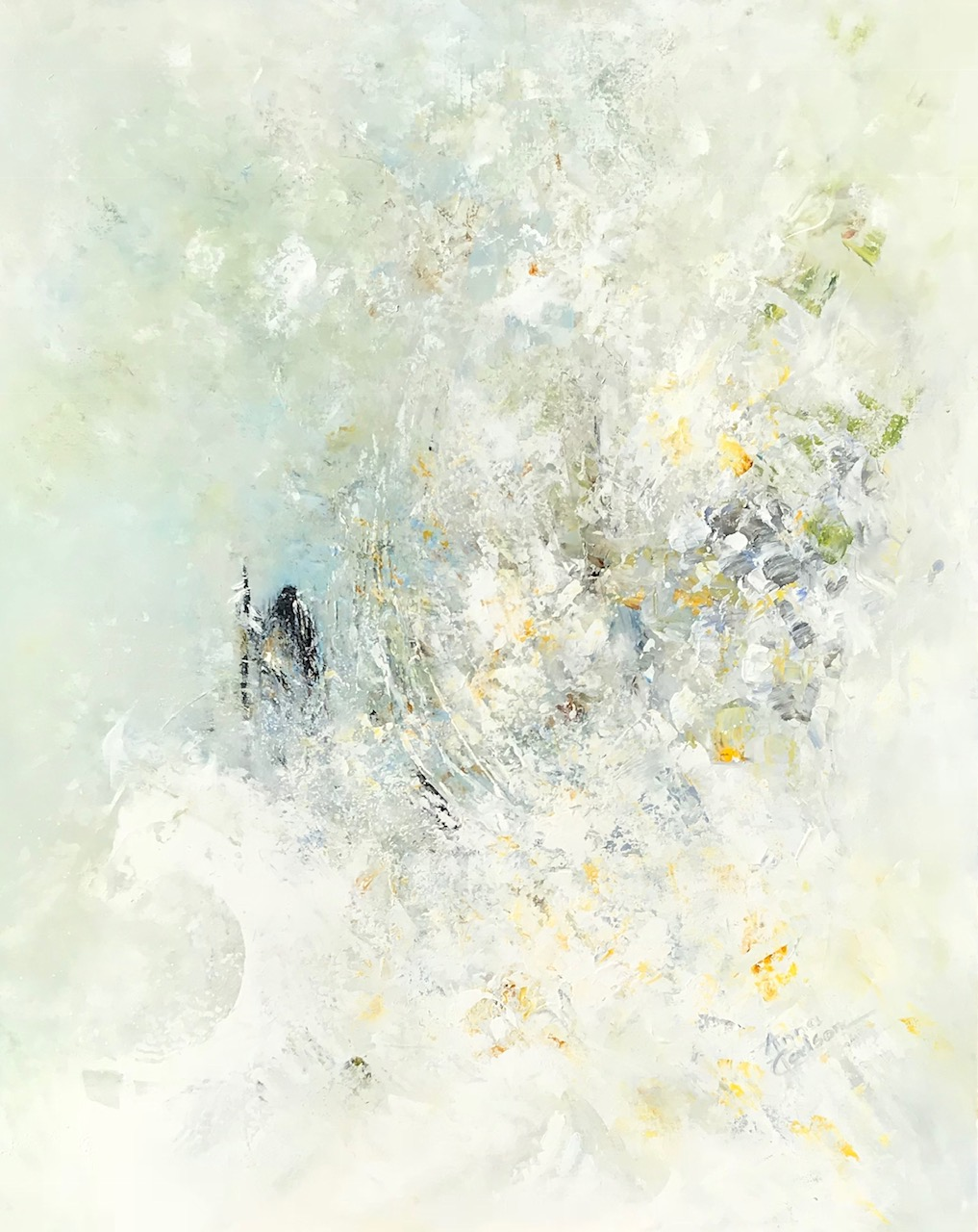 Into The Storm, Anna Carlson, Painting, Rogoway Gallery