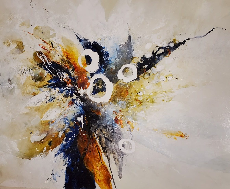 Joy, Anna Carlson, Painting, Rogoway Gallery