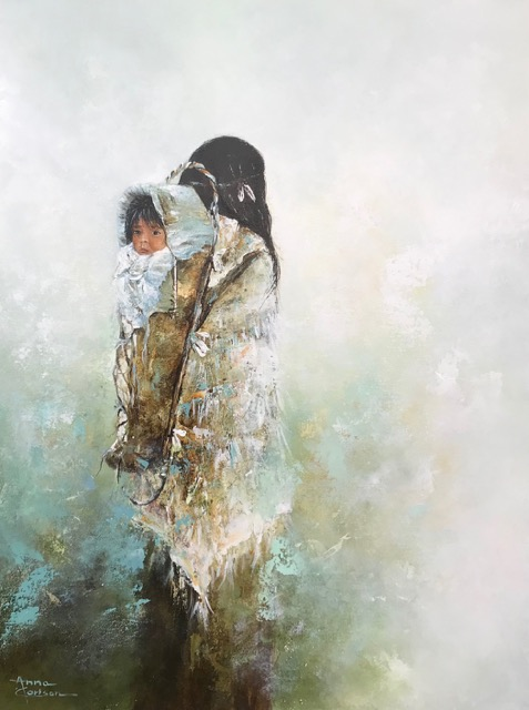 My Everything, Anna Carlson, Painting, Rogoway Gallery