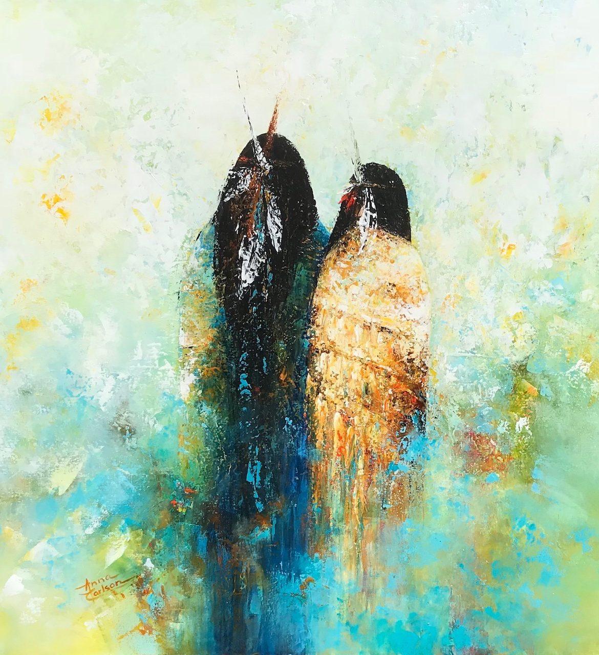Native Dreams, Anna Carlson, Painting, Rogoway Gallery