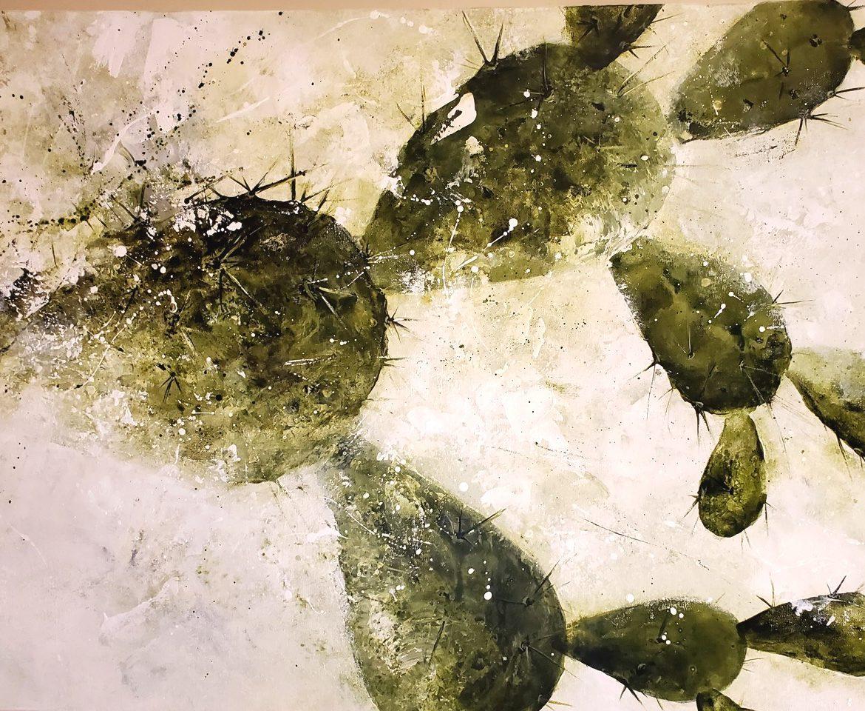 Survivor, Anna Carlson, Painting, Rogoway Gallery