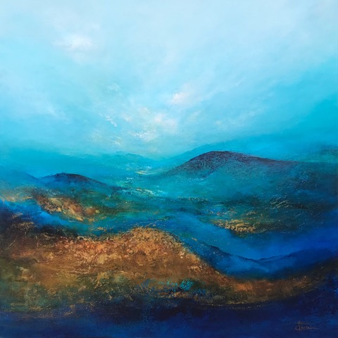 Tranquility, Anna Carlson, Painting, Rogoway Gallery
