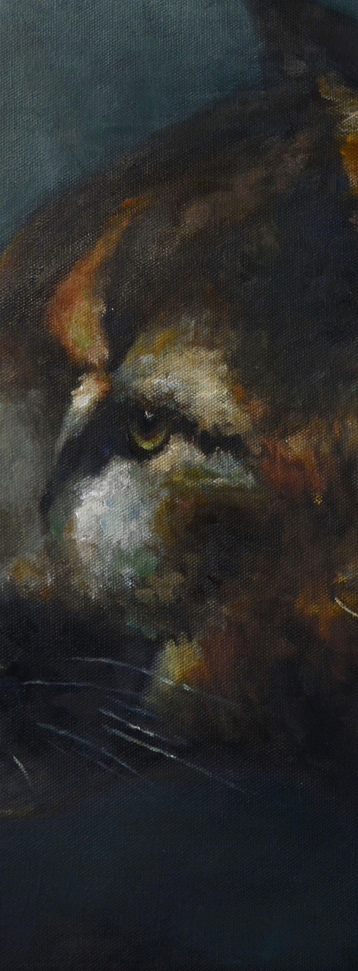 Night Stalker, Jim Hollon, Painting, Rogoway Gallery