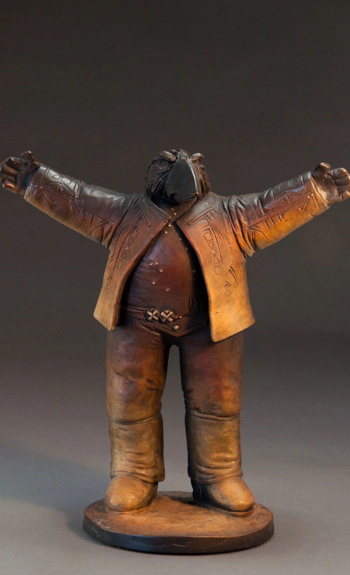 Stories of Survivors and Friends, Brubaker, Bronze Sculpture, Rogoway Gallery