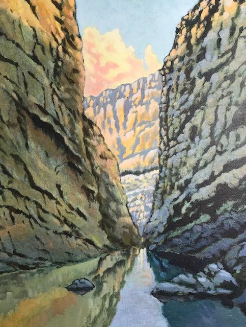 Santa Elena Canyon, Bert Mayse, Turquoise Tortoise Gallery