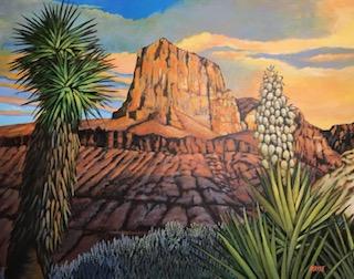 El Capitan - Guadalupe Mtns., Bert Mayse, Turquoise Tortoise Gallery