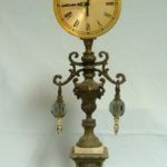 3576 Table Clock with Plunkydunks, Roger Bell, Rogoway