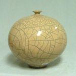 Bob Smith 408, Raku Vessel Art, Rogoway Gallery