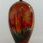 Bob Smith 422, Raku Vessel Art, Rogoway Gallery