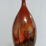 Bob Smith 434, Raku Vessel Art, Rogoway Gallery