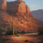 Peaceful Desert Hike, David Flitner, Rogoway Gallery