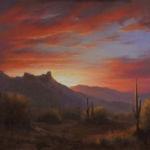 The Sky Ablaze, David Flitner, Rogoway Gallery