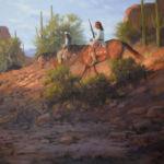 Throurh Apache Pass, David Flitner, Rogoway Gallery
